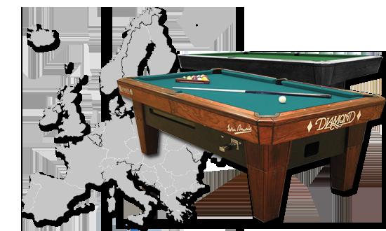 Fabulous Diamond Billiards Europe Home Remodeling Inspirations Gresiscottssportslandcom